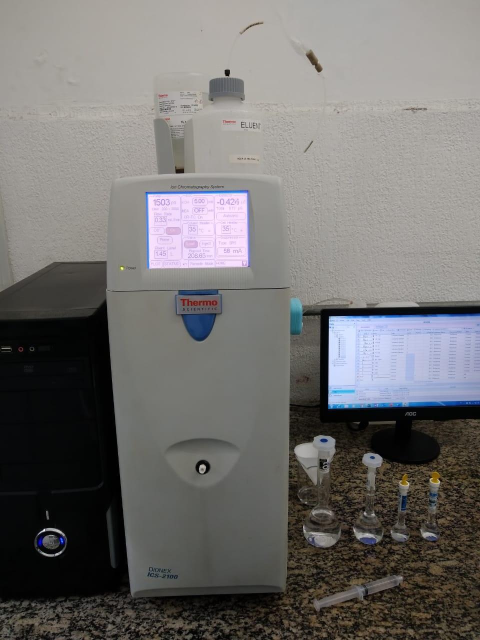 Análise de água no ABC - 1