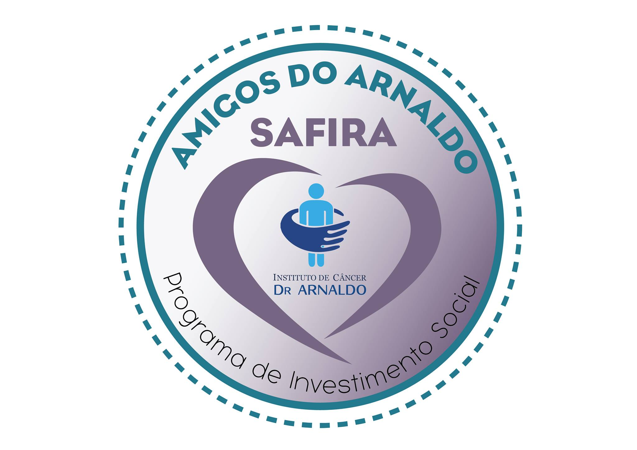 Logo Investidor Social do instituto de Câncer Arnaldo Vieira de Carvalho